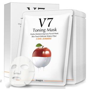 形象美V7水润懒人素颜面膜贴盒装 温和滋润控油补水保湿面膜批发
