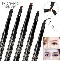 韩婵丝柔精致眉笔 易上妆耐水持久彩妆化妆笔自然旋转 画眉化妆品