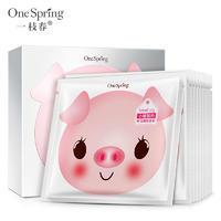 一枝春小猪酸奶补水保湿润颜 面膜莹润滋养温和滋润 面膜批发