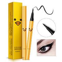 韩婵魅惑柔美魅力臻黑眼线笔上色均匀持久防汗不晕染眼线液化妆品