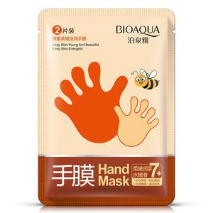 泊泉雅蜂蜜保湿嫩滑护手膜贴霜膏 手部护理润肤乳 冬季防冻护理